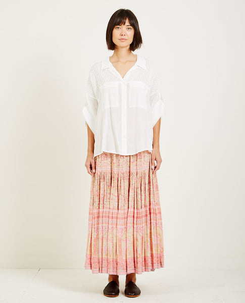 SPELL & THE GYPSY LINDA BLOUSE WHITE
