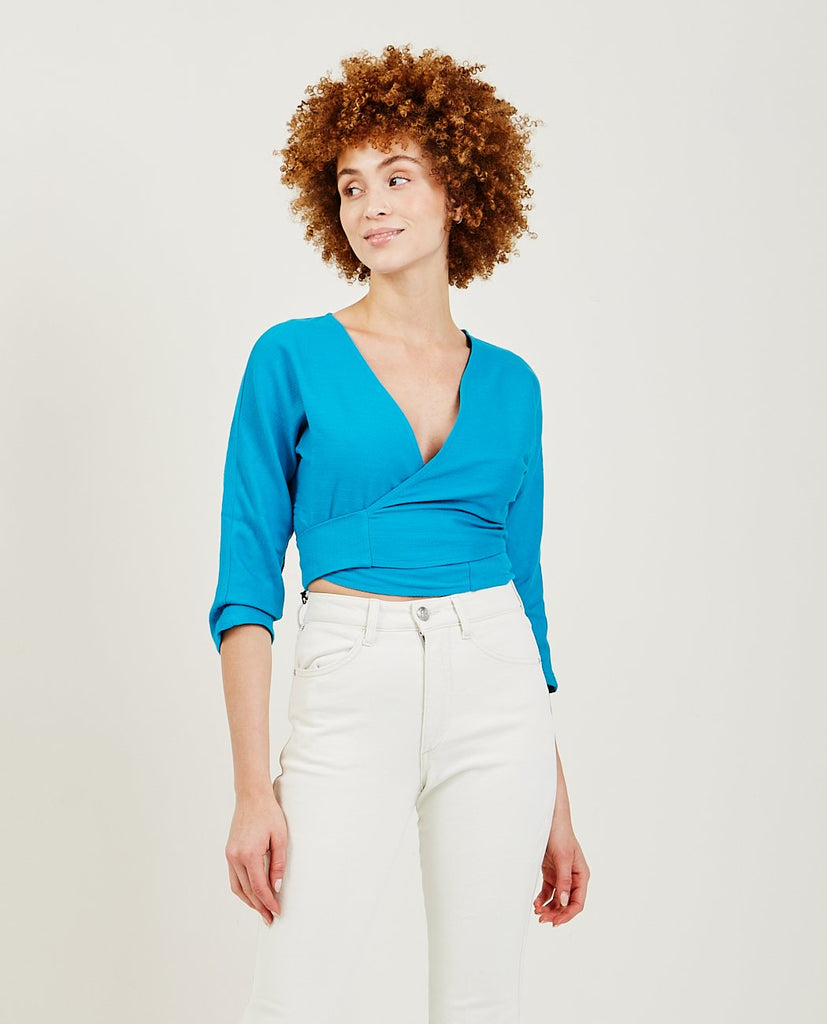 Linden Wrap Around Top-PALOMA WOOL-American Rag Cie