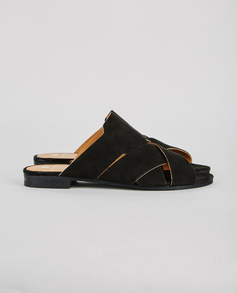 H BY HUDSON-LONATU SUEDE SANDAL-Women Sandals-{option1]