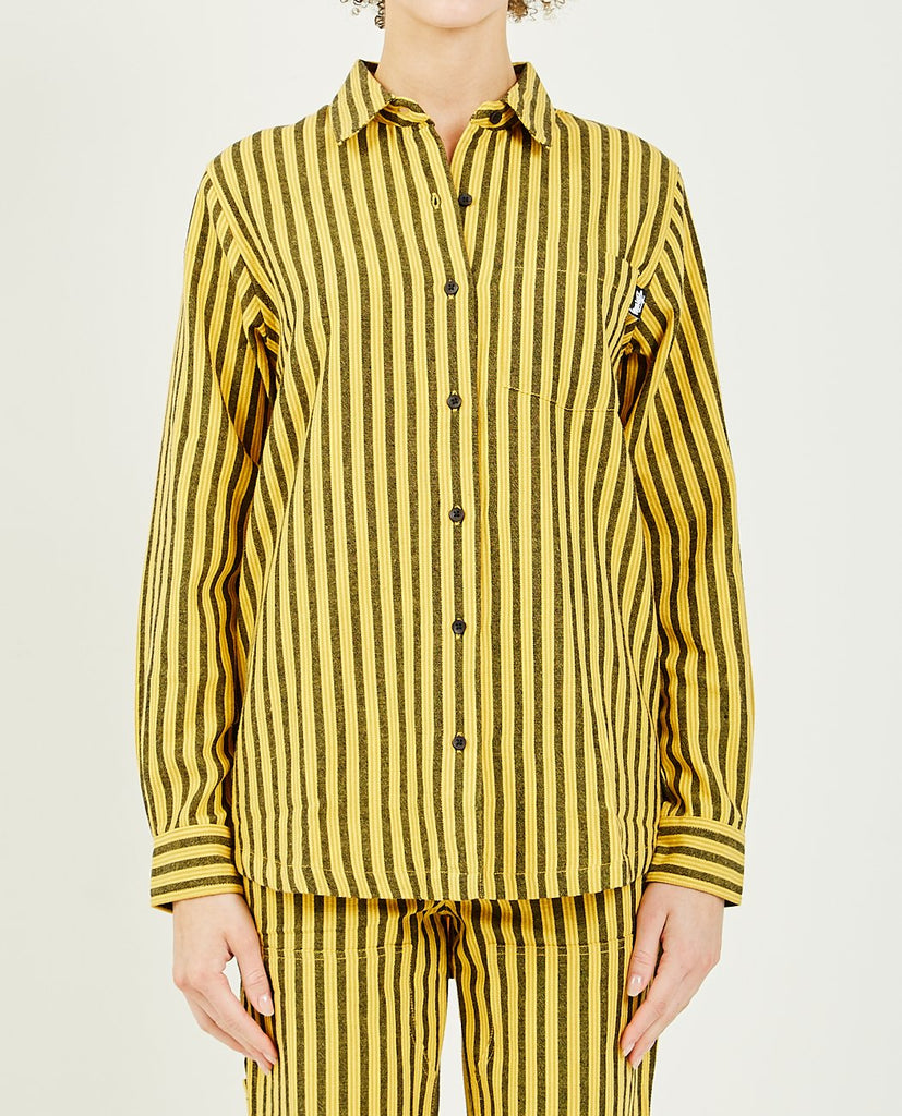 LONG SLEEVE SHIRT PIPER STRIPE-STUSSY-American Rag Cie