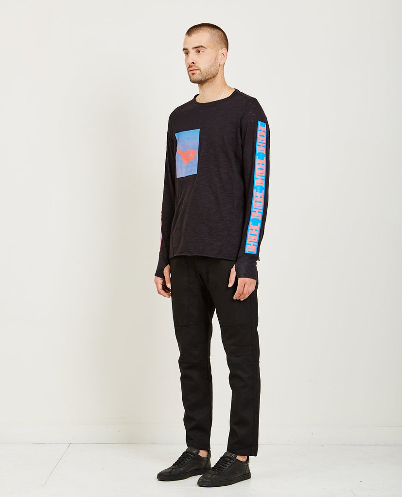 LONG SLEEVE TEE-ABASI ROSBOROUGH-American Rag Cie
