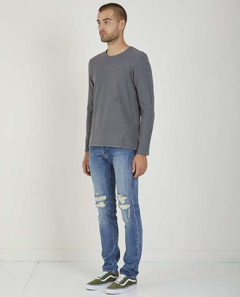 LONG SLEEVE TEE-LEVI'S: MADE & CRAFTED-American Rag Cie