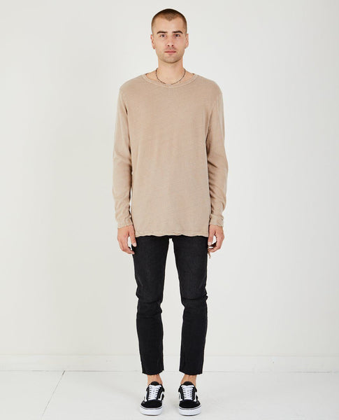 KSUBI LOOSE MORALS TEE MUSHROOMED