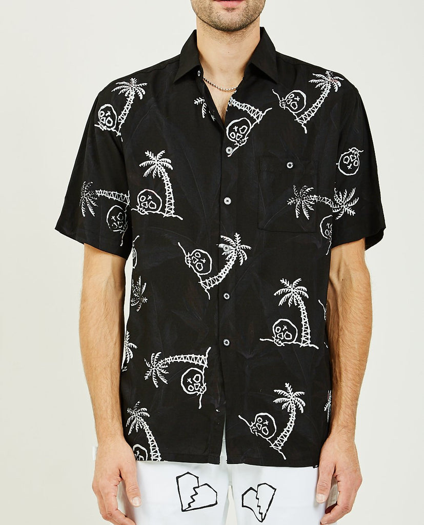 LOST PARADISE HAWAIIAN SHIRT-FOR THOSE WHO SIN-American Rag Cie