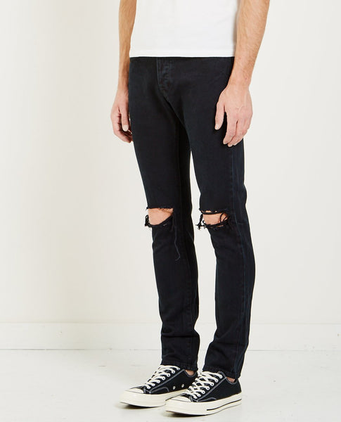 NEUW LOU SLIM JEAN REVISION BLACK
