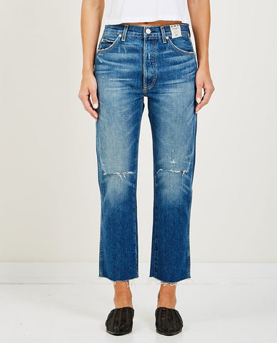 LEVI'S 501 CROPPED TAPER PART TIME LOVER