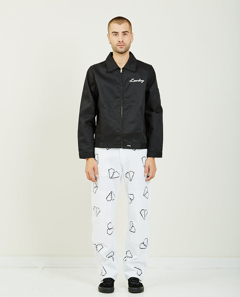 FOR THOSE WHO SIN-LOVERBOY SMOKERS JACKET-Men Coats + Jackets-{option1]