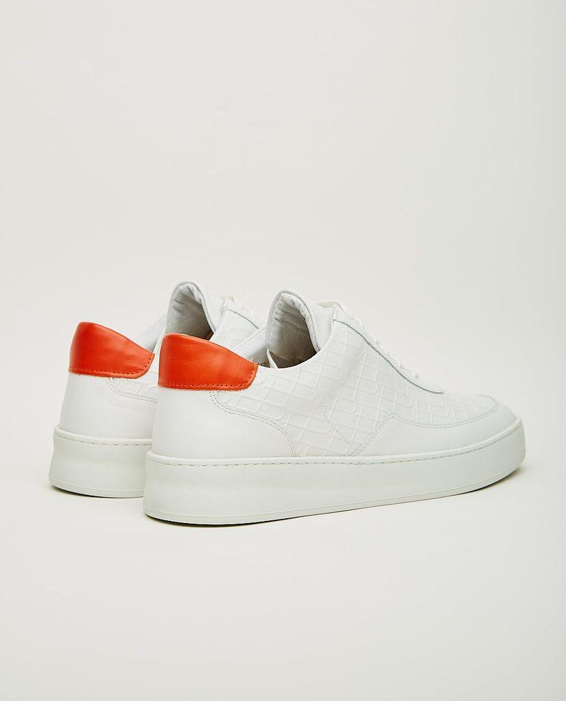 Low Mondo Plain Mono White-FILLING PIECES-American Rag Cie