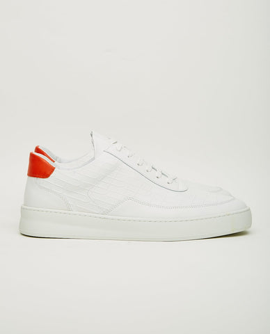 TCG CULVER SNEAKER CRACKED WHITE