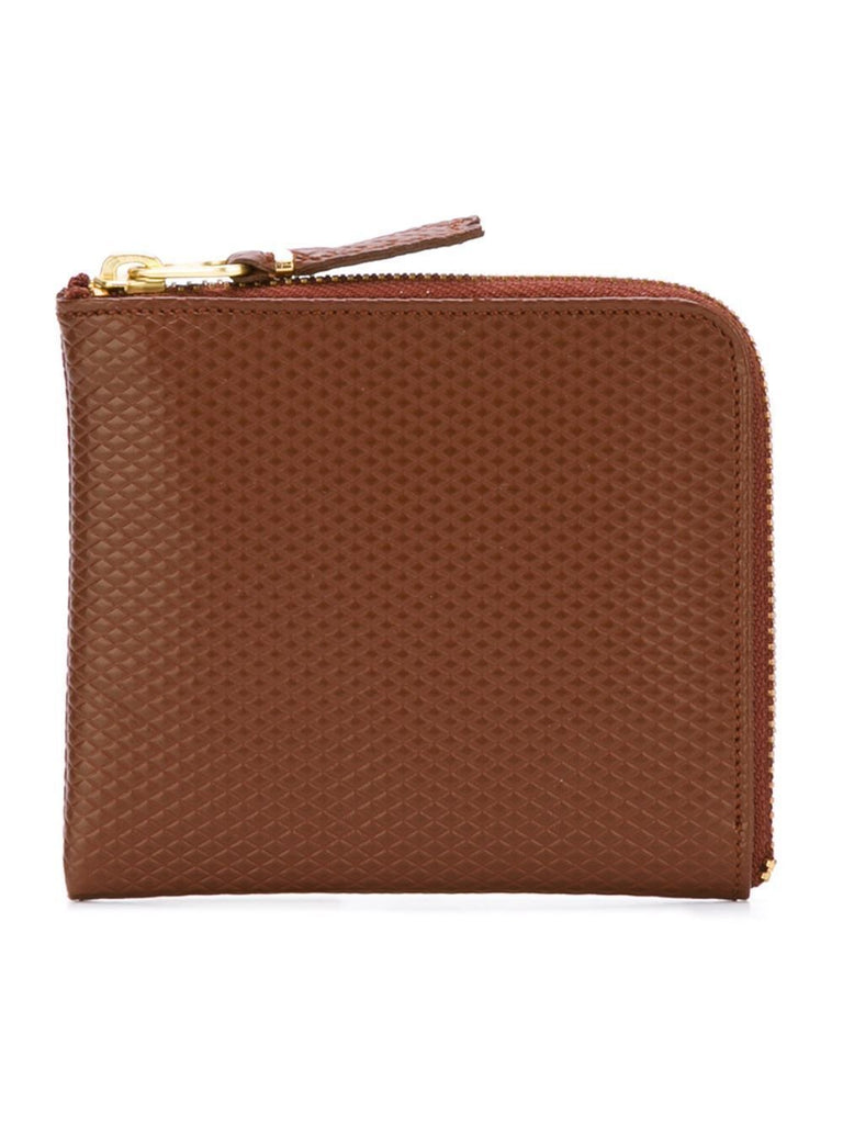 LUXURY LEATHER LINE 2-ZIP WALLET-COMME DES GARÇONS WALLET-American Rag Cie