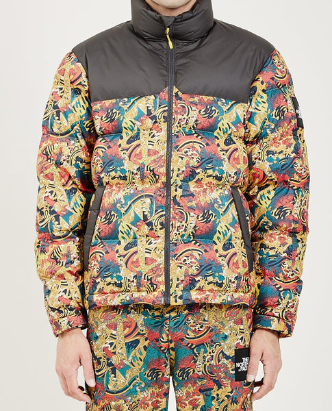 THE NORTH FACE M 1992 NUPTSE JACKET LEOPARD YELLOW GENESIS