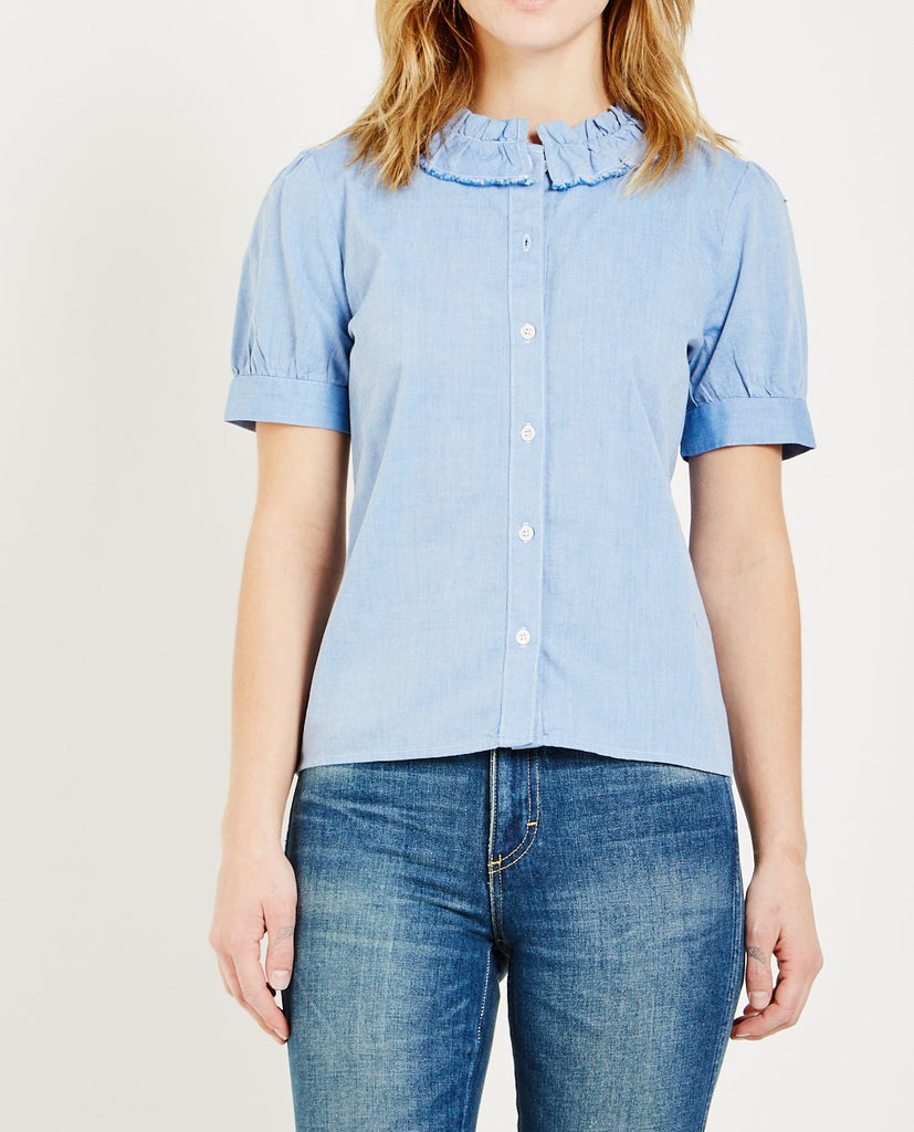 MADISON SHORT SLEEVE BLOUSE-ALSO-American Rag Cie