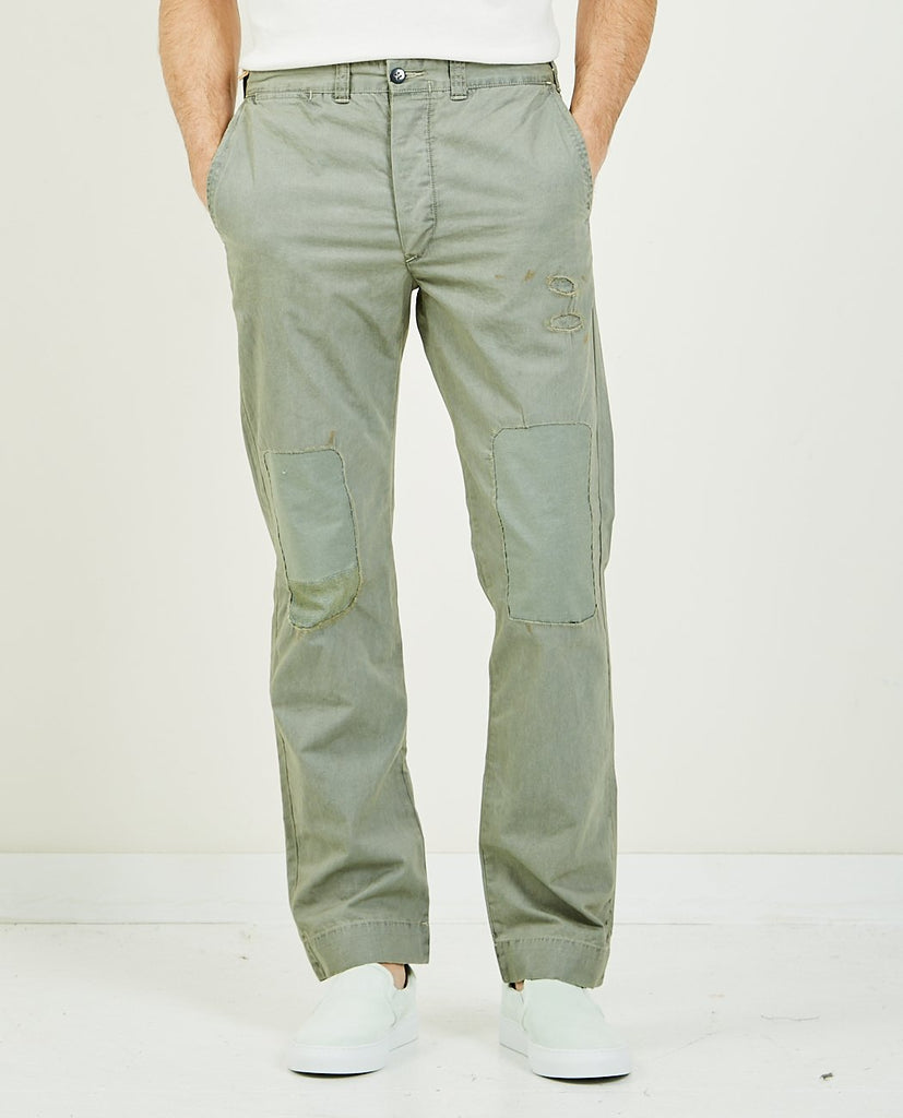 RRL-Maitland CHN Slate Blue-Men Pants-{option1]