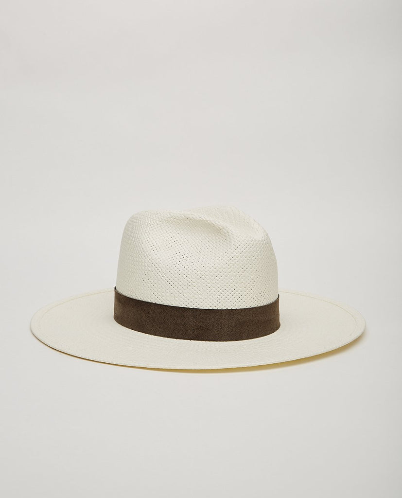 MARCELL PACKABLE STRAW FEDORA-JANESSA LEONE-American Rag Cie