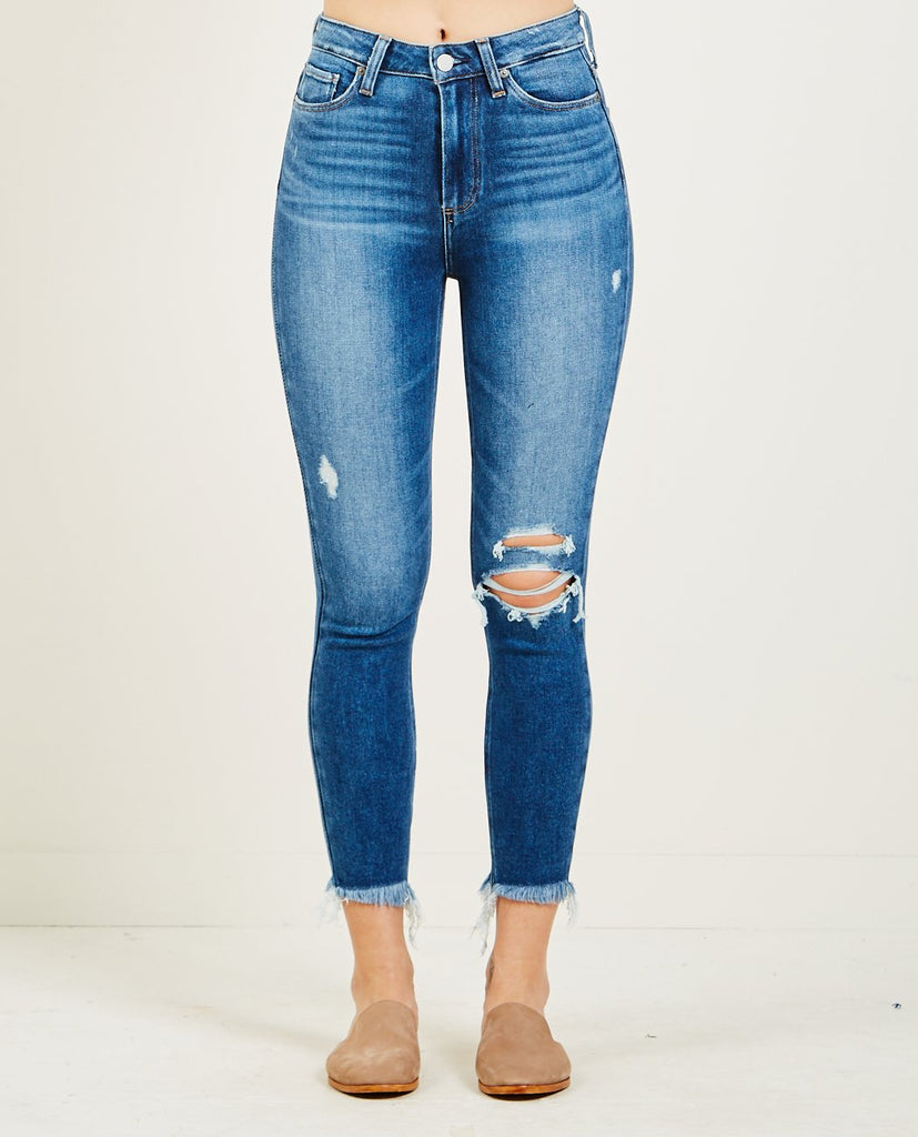 MARGOT CROP JEAN ALESSIO DESTRUCTED-PAIGE-American Rag Cie