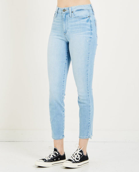 PAIGE MARGOT CROP JEAN LUMINA