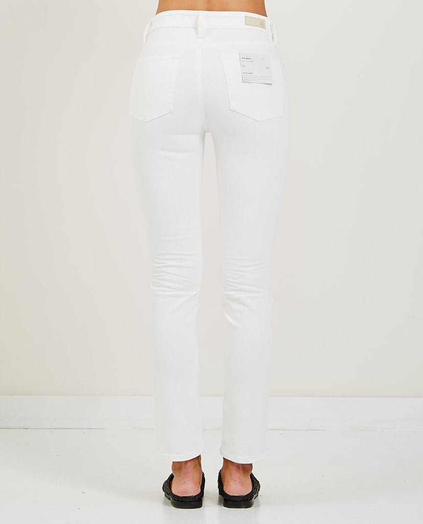 AG JEANS-MARI 1 YEAR TONAL WHITE-Women Skinny-{option1]