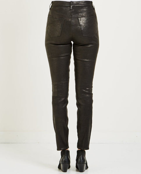 J BRAND MARIA HIGH RISE LEATHER JEAN