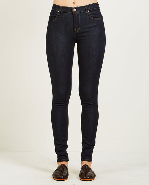 J BRAND MARIA HIGH RISE SKINNY JEAN AFTER DARK