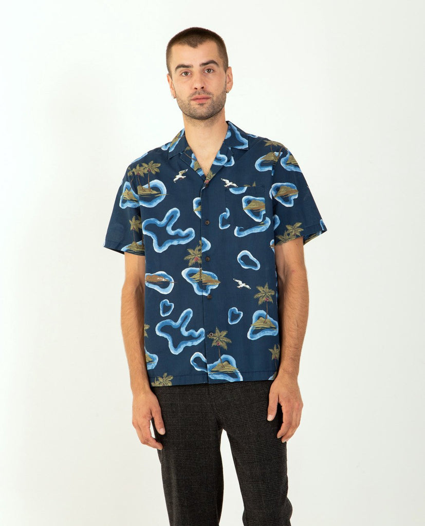 Marine Shirt-BANKS JOURNAL-American Rag Cie