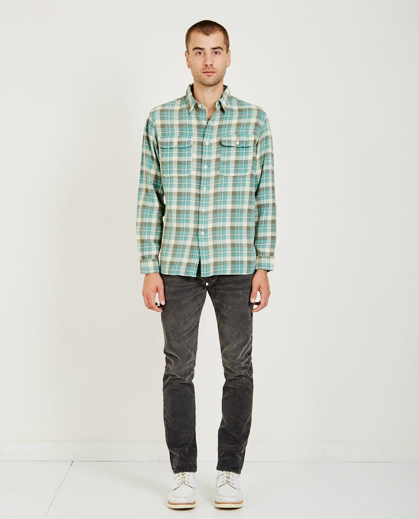 MATLOCK PLAID WORKSHIRT-RRL-American Rag Cie