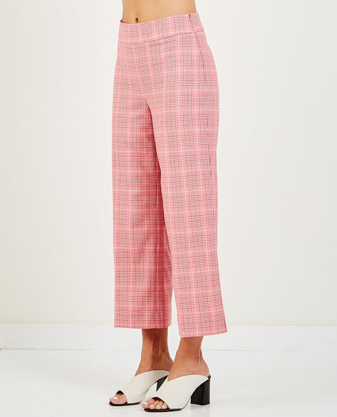 a0f24a14437 JUST FEMALE MAXIME TROUSER ROSE CHECK JUST FEMALE MAXIME TROUSER ROSE CHECK