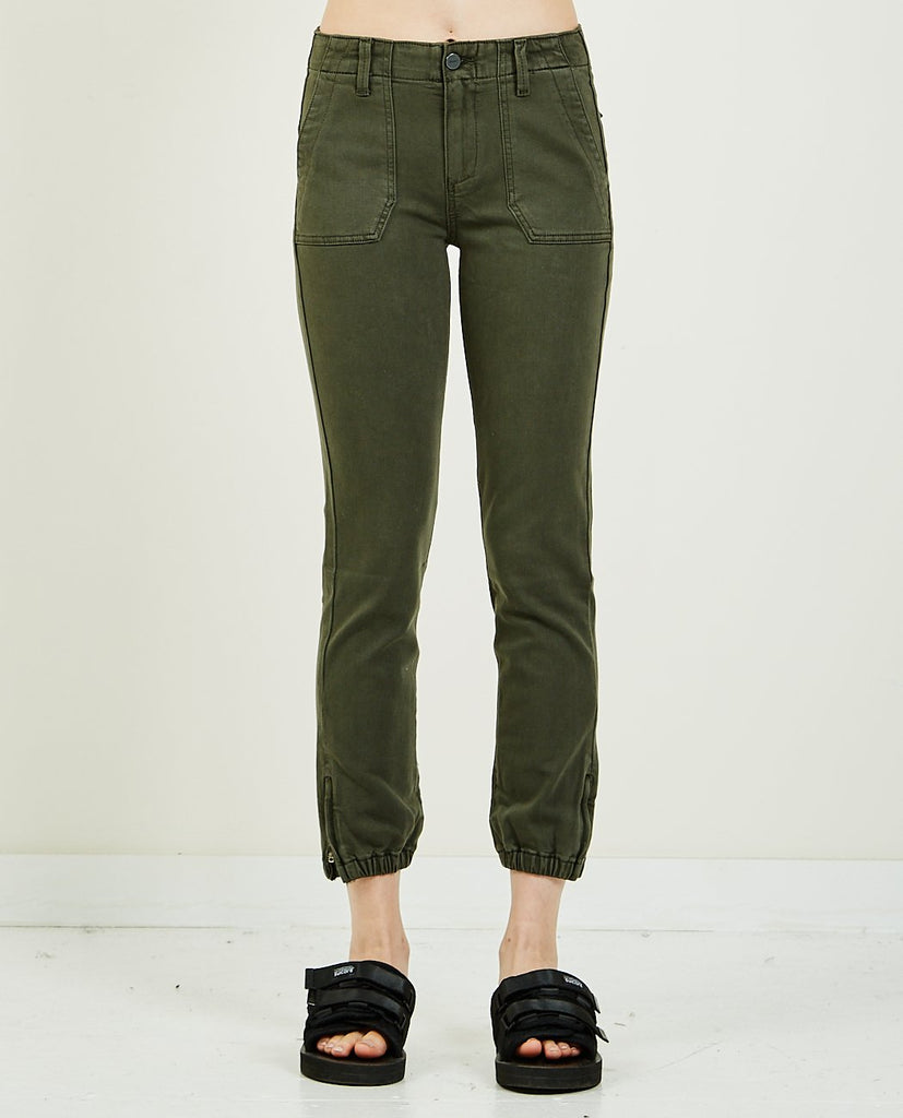 Mayslie Jogger Smokey Olive-PAIGE-American Rag Cie
