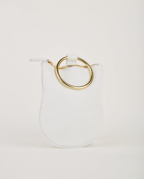 OTAAT MYERS COLLECTIVE MEDIUM RING POUCH WHITE