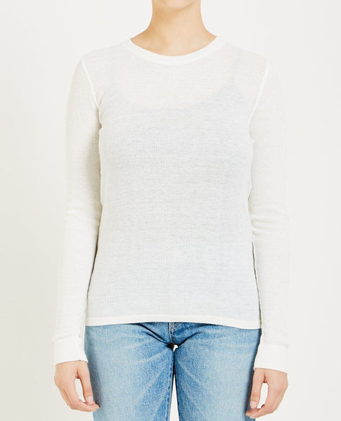 NORSE PROJECTS MERETE MELANGE RIB TEE