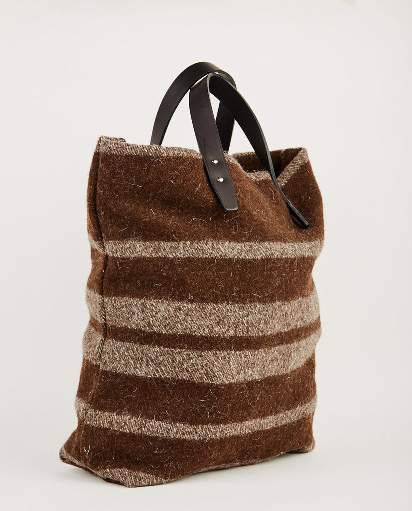 STEVE MONO-MERINO WOOL & CALFSKIN TOTE-Women Bags + Wallets-{option1]