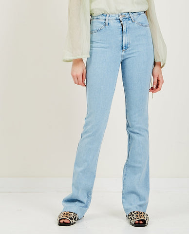GANNI Classic Denim Wide Jean