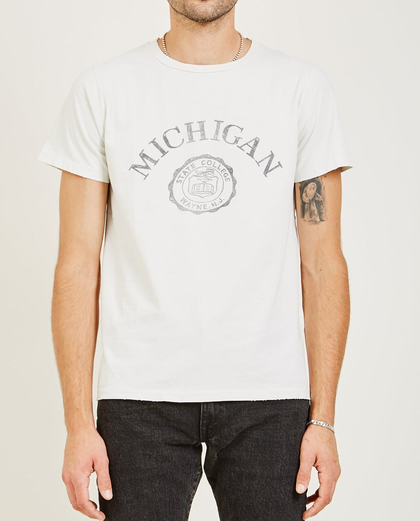 MICHIGAN SPECIAL FINISH TEE-REMI RELIEF-American Rag Cie