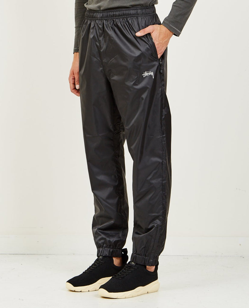 STUSSY-MICRO RIPSTOP PANT BLACK-Men Pants-{option1]