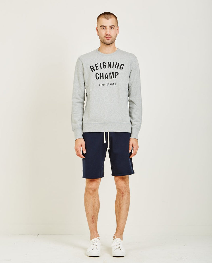 MID WEIGHT TERRY GYM LOGO TEE-REIGNING CHAMP-American Rag Cie