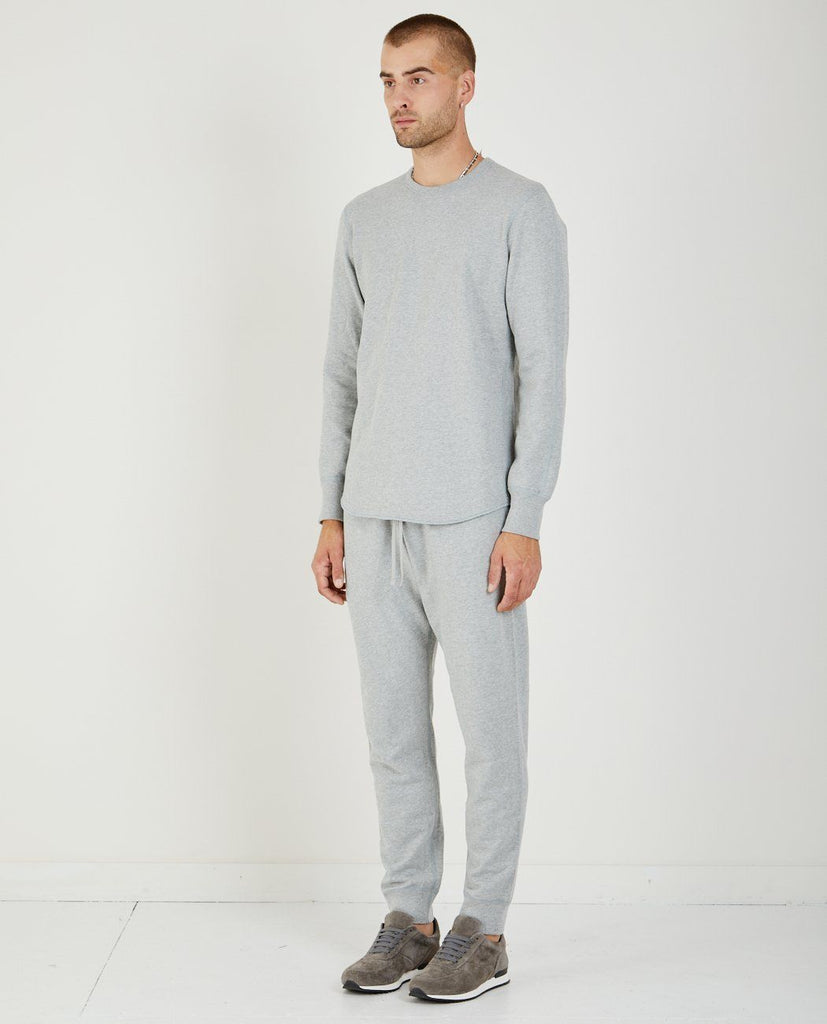 MIDWEIGHT SCALLOPED TERRY SWEATSHIRT-REIGNING CHAMP-American Rag Cie