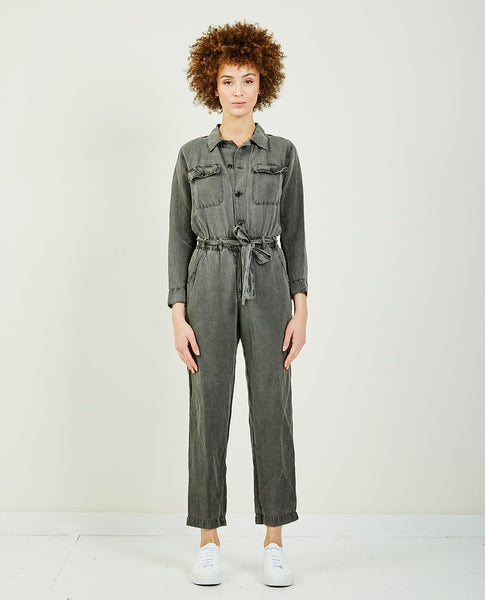 NSF MIKOH HIGH WAIST JUMPSUIT
