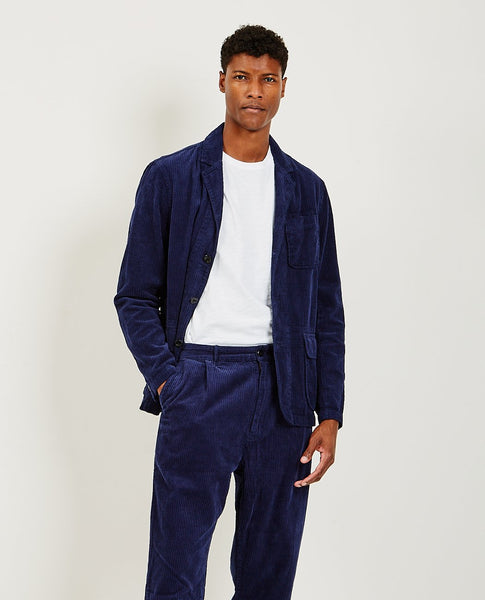 ALEX MILL Mill Blazer Deep Navy