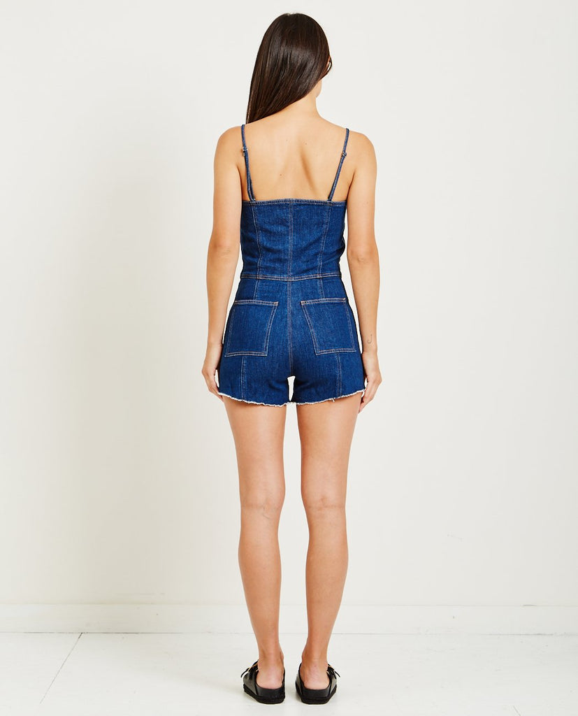 HUDSON-MILLA BUSTIER ROMPER-All-In-One-{option1]