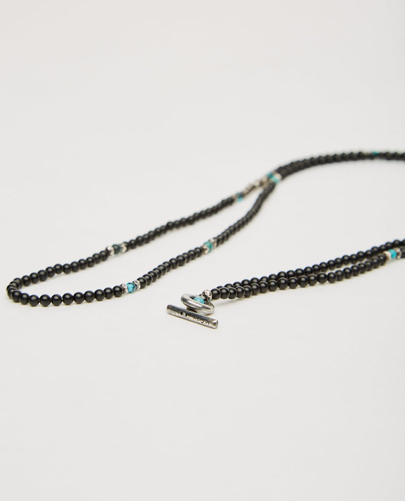 MINI GEMSTONE BEADED NECKLACE-M. COHEN-American Rag Cie