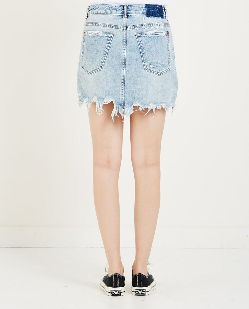 MINI MOSS SKIRT SUPER FREAK-KSUBI-American Rag Cie