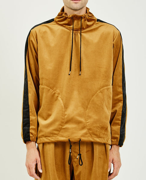 MONITALY MOCK NECK PULLOVER