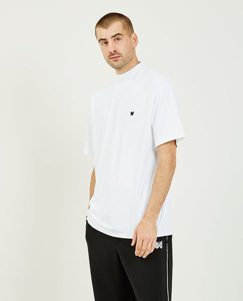 NEEDLES Mock Neck Tee