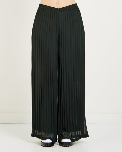 JUST FEMALE MOE PLEATED TROUSERS