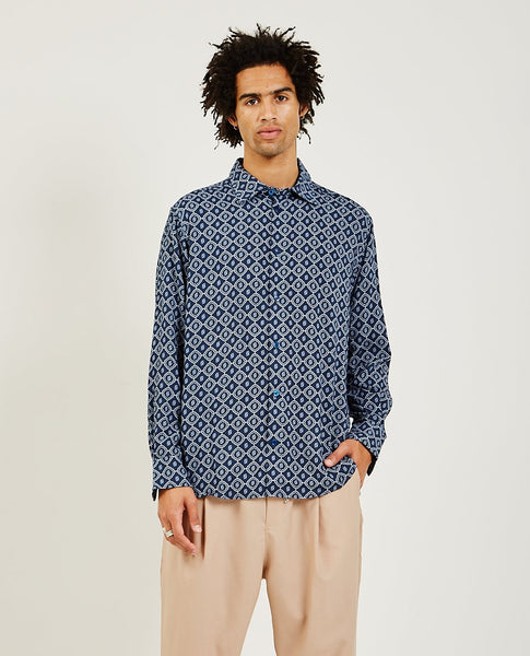 DROLE DE MONSIEUR Monogram Graphic Shirt