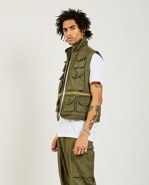 MONITALY Mossy Fishing Vest