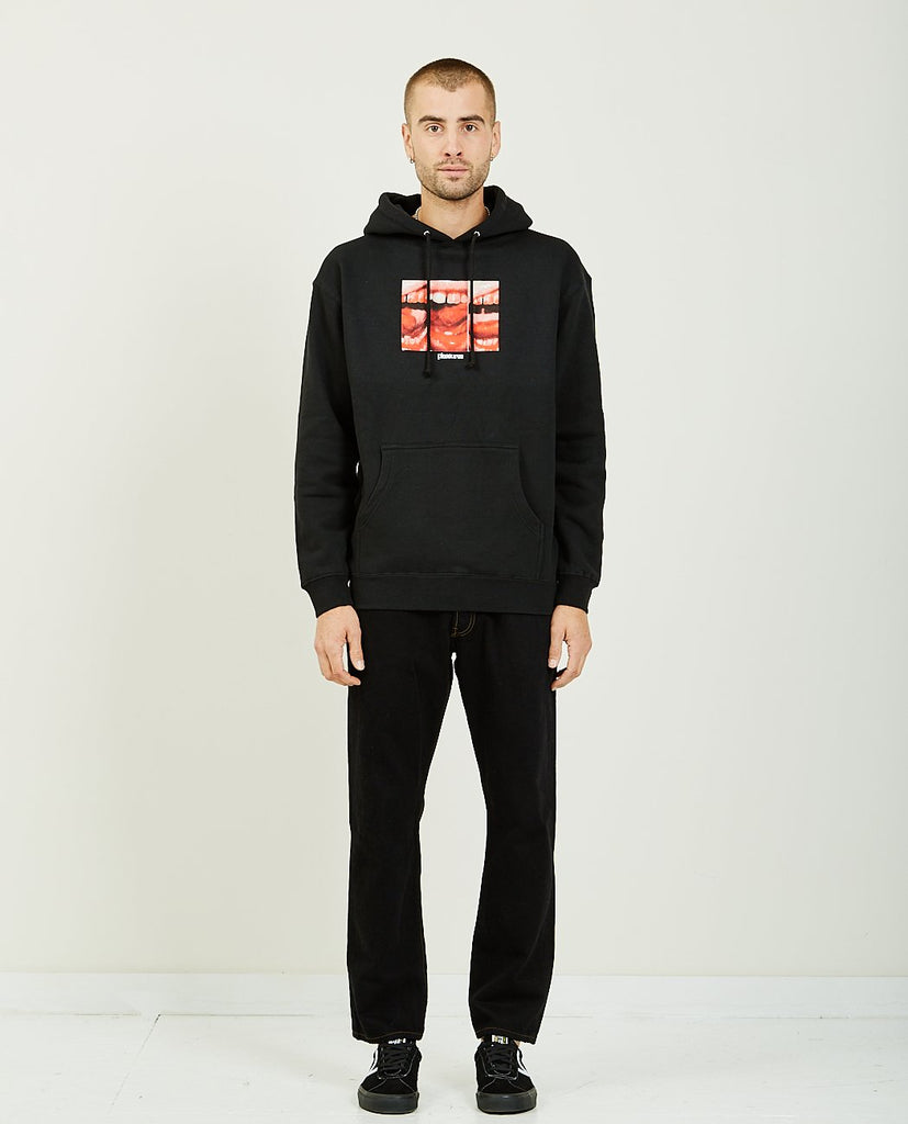 PLEASURES-MOUTH OFF HOODY-Men Sweaters + Sweatshirts-{option1]