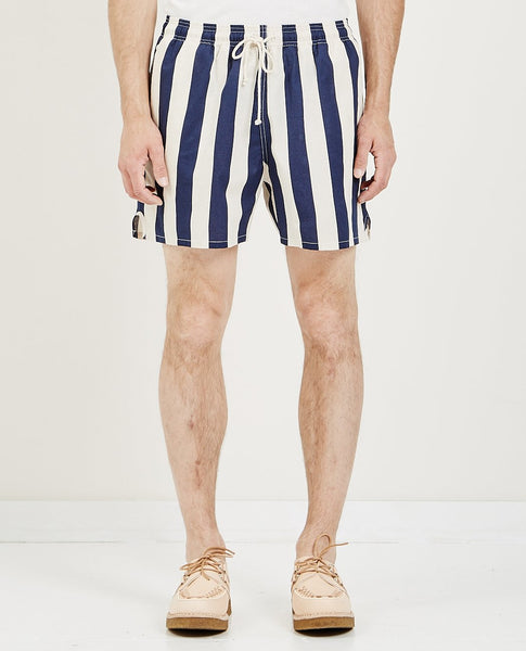 S.K. MANOR HILL MT SHORT BOLD BLUE STRIPE