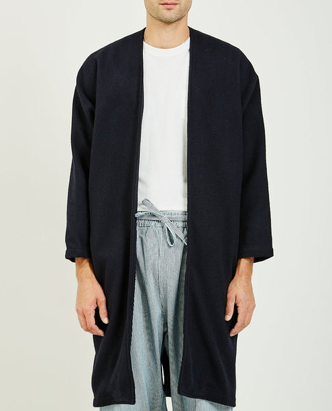 PROSPECTIVE FLOW MUGI WOOL LONG COAT