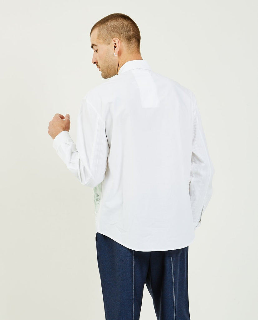 Multi Color Pocket Shirt-THE MUSEUM VISITOR-American Rag Cie