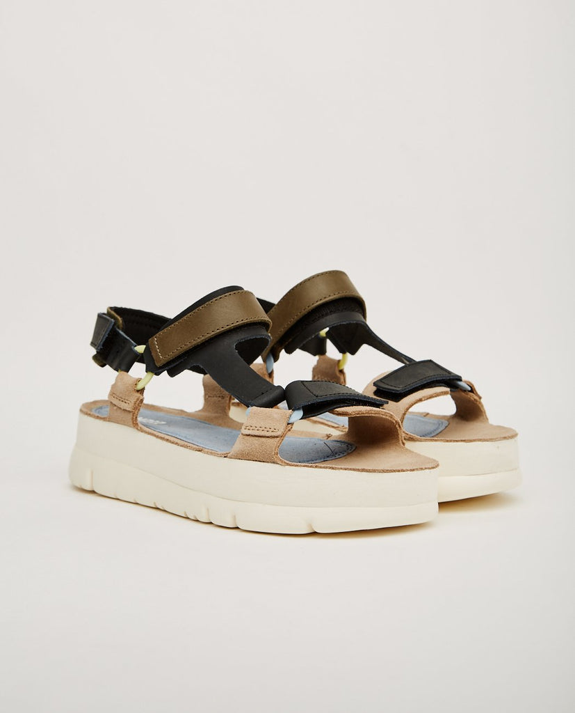 CAMPER-MULTICOLOR PLATFORM SANDAL-Women Sandals-{option1]